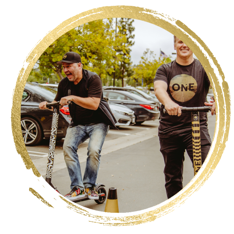 Realty ONE Group real estate professionals scooter